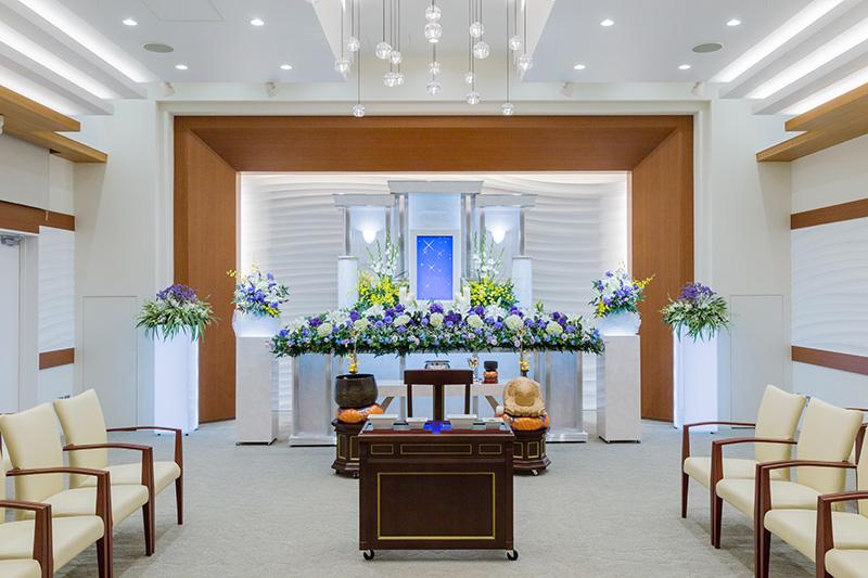 HALL A / 京成志津 葬儀|ハートホール志津